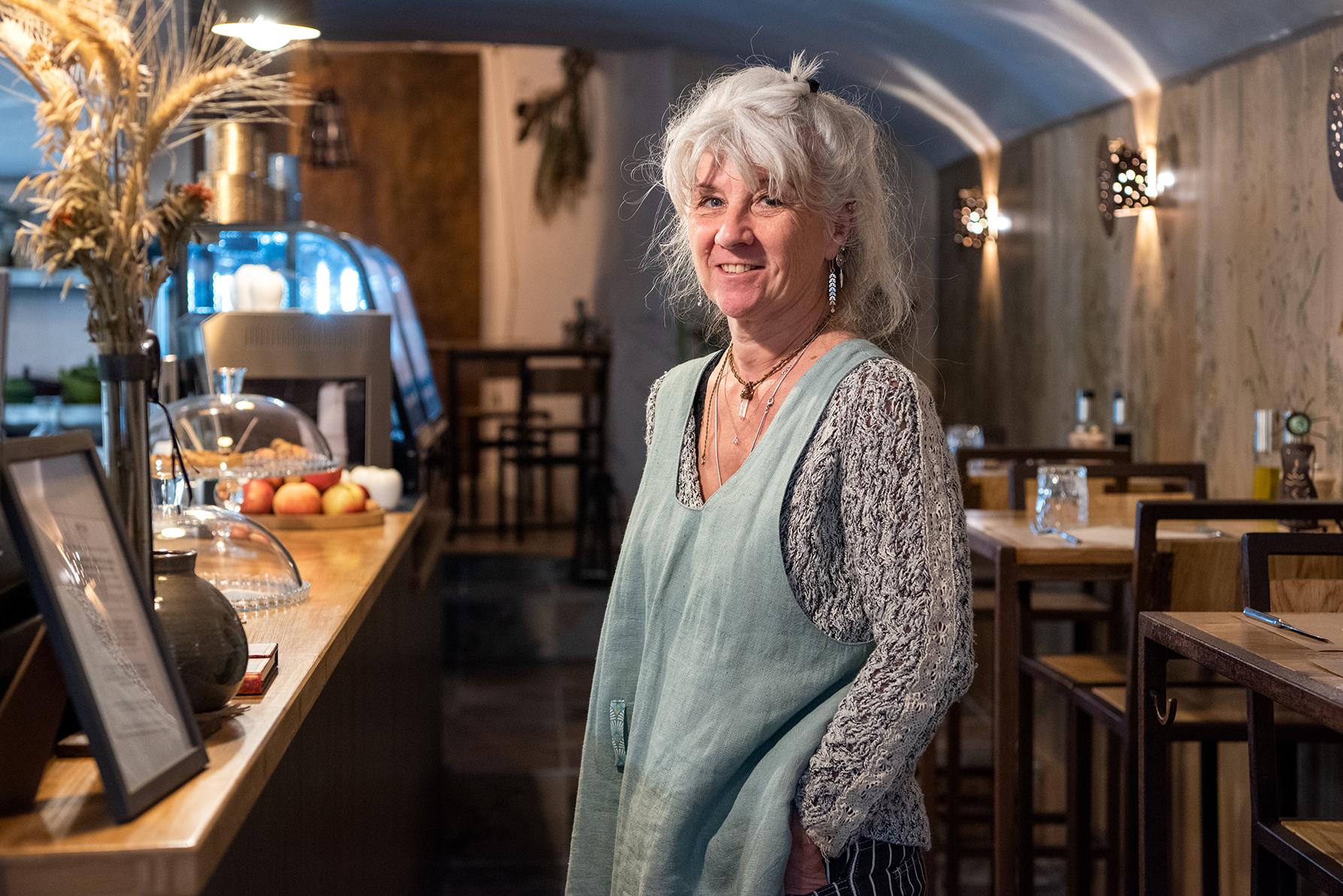 Valérie Caussut vous accueille rue des Trois Marie pour déguster une cuisine végétarienne, végan, sans gluten (Photos Ville d'Ajaccio).