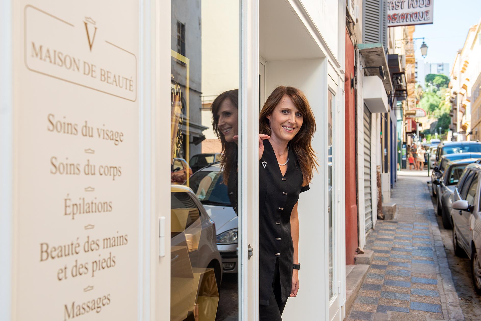 Au 2 de la rue Maréchal Ornano, Céline Chanrion a ouvert la Maison Valmont (Photo Ville d'Ajaccio).