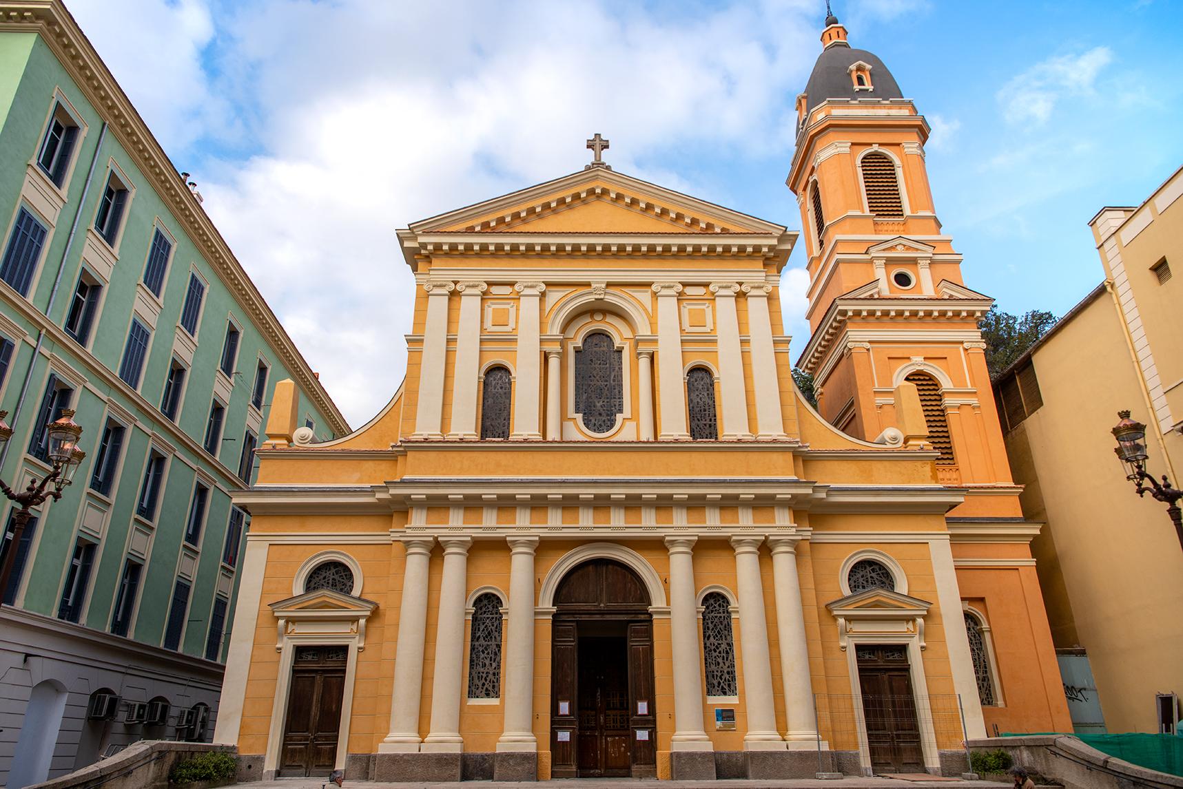 Située le long du cours Napoléon, l'église Saint Roch fait partie du patrimoine de proximité (Photo Ville d'Ajaccio)..