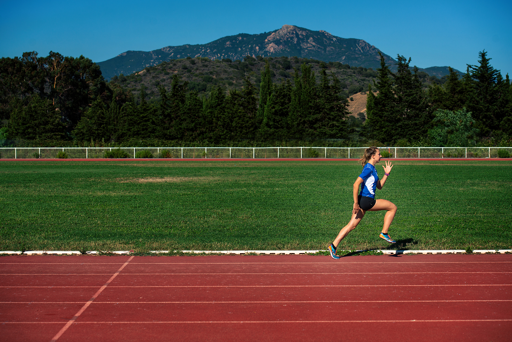 Ouverture de la piste d'athlétisme Jean Nicoli (Vignetta)
