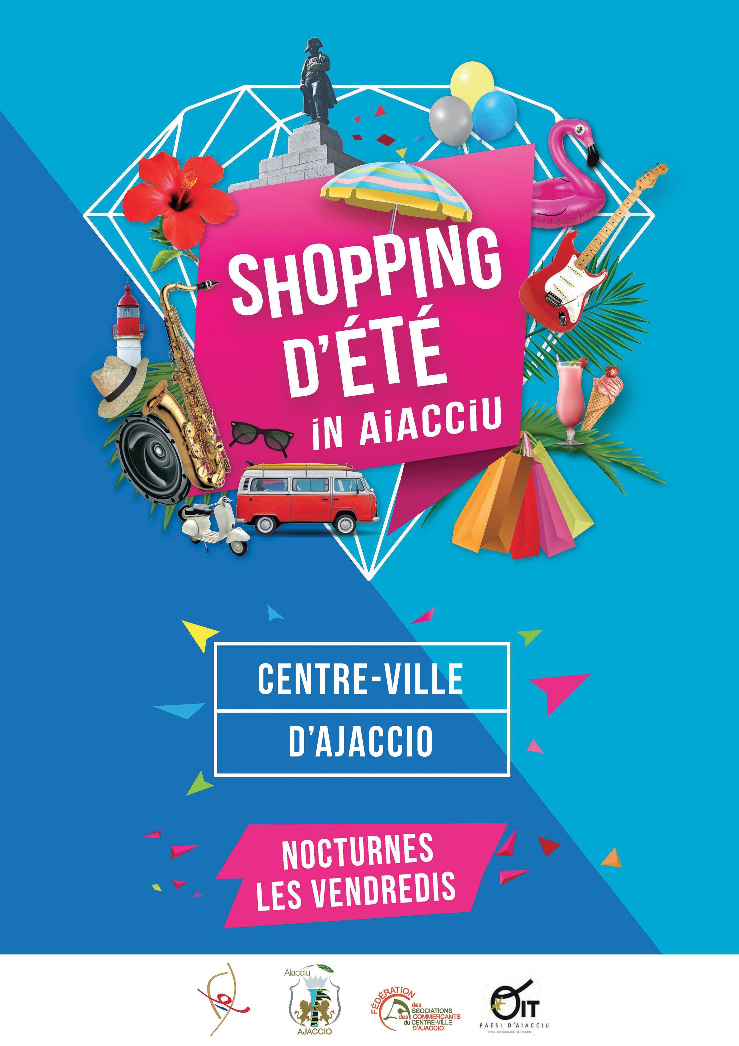 Shopping d'été, les vendredis de 19h00 à minuit