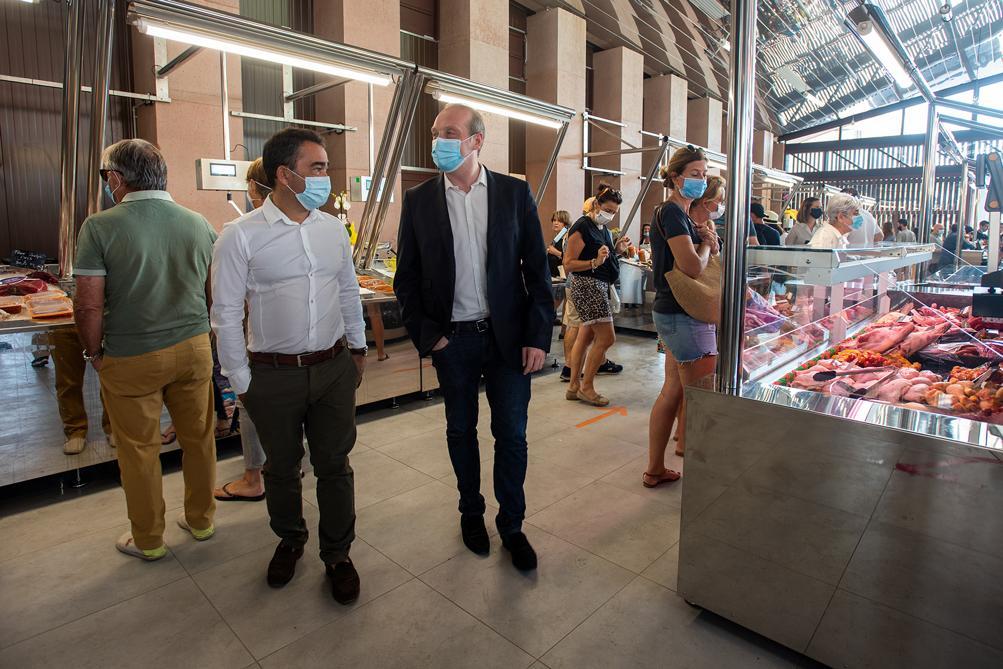 """""""Le Marché d'Ajaccio a été pensé pour proposer un pôle commercial attractif et animé du centre-ville"""", souligne Stéphane Sbraggia, premier adjoint en charge de l'attractivité commerciale et artisanale."""