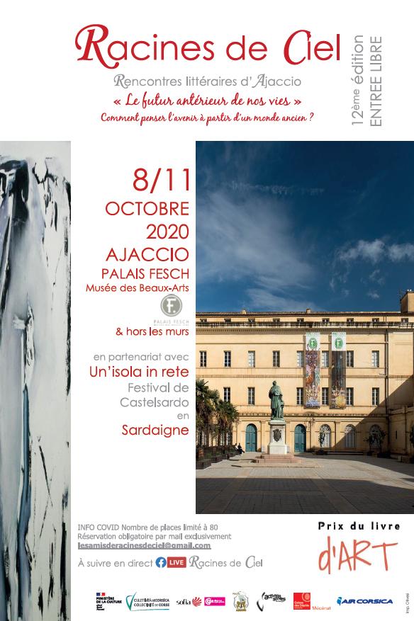 Racines de Ciel : les rencontres littéraires d'Ajaccio du 8 au 11 octobre