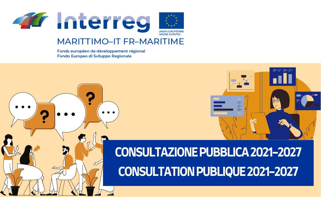 consultation publique programme marittimo 2021-2027