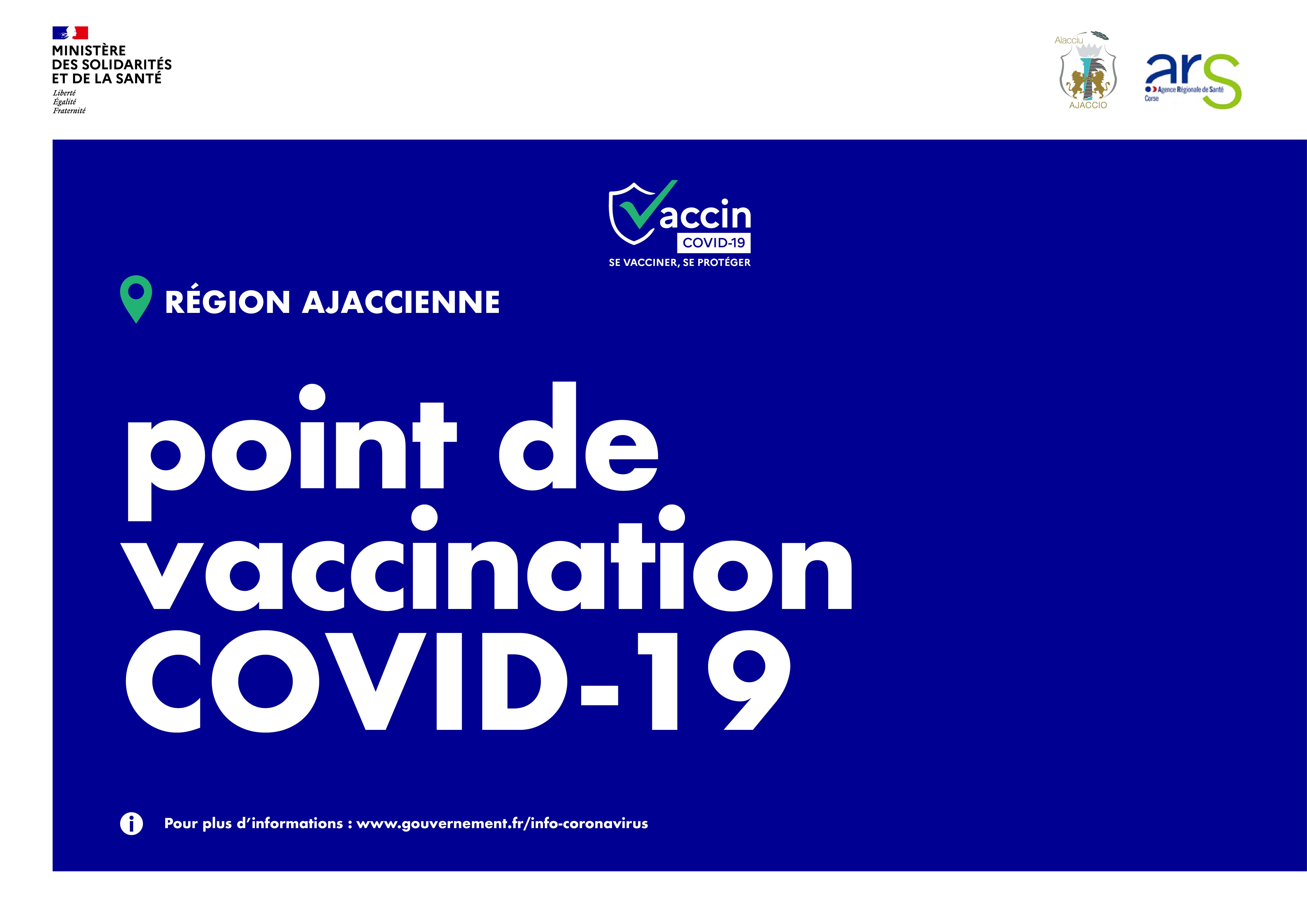 Covid-19 : Où et comment se faire vacciner à Ajaccio ? mise à jour du 22/02/2021
