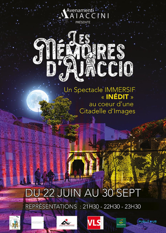 """Spectacle """"Les mémoires d'Ajaccio"""" à la Citadelle Miollis"""