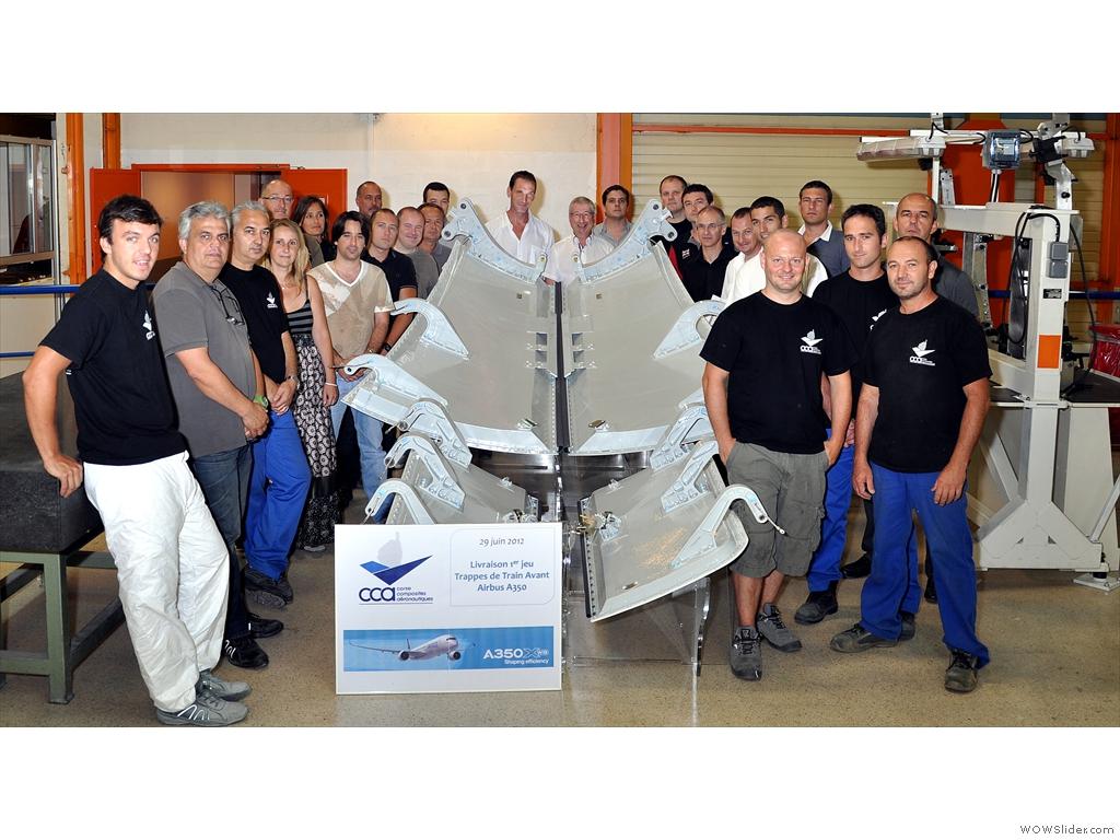 Nouveaux Moyens de Production de Grande Dimension Corse Composites Aéronautique