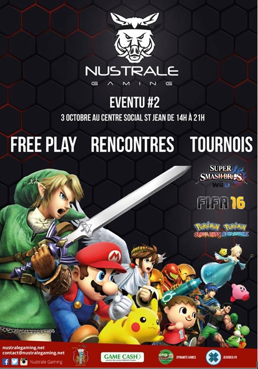 Samedi 3 Octobre 2015, Eventu#2, au centre social de Saint-Jean
