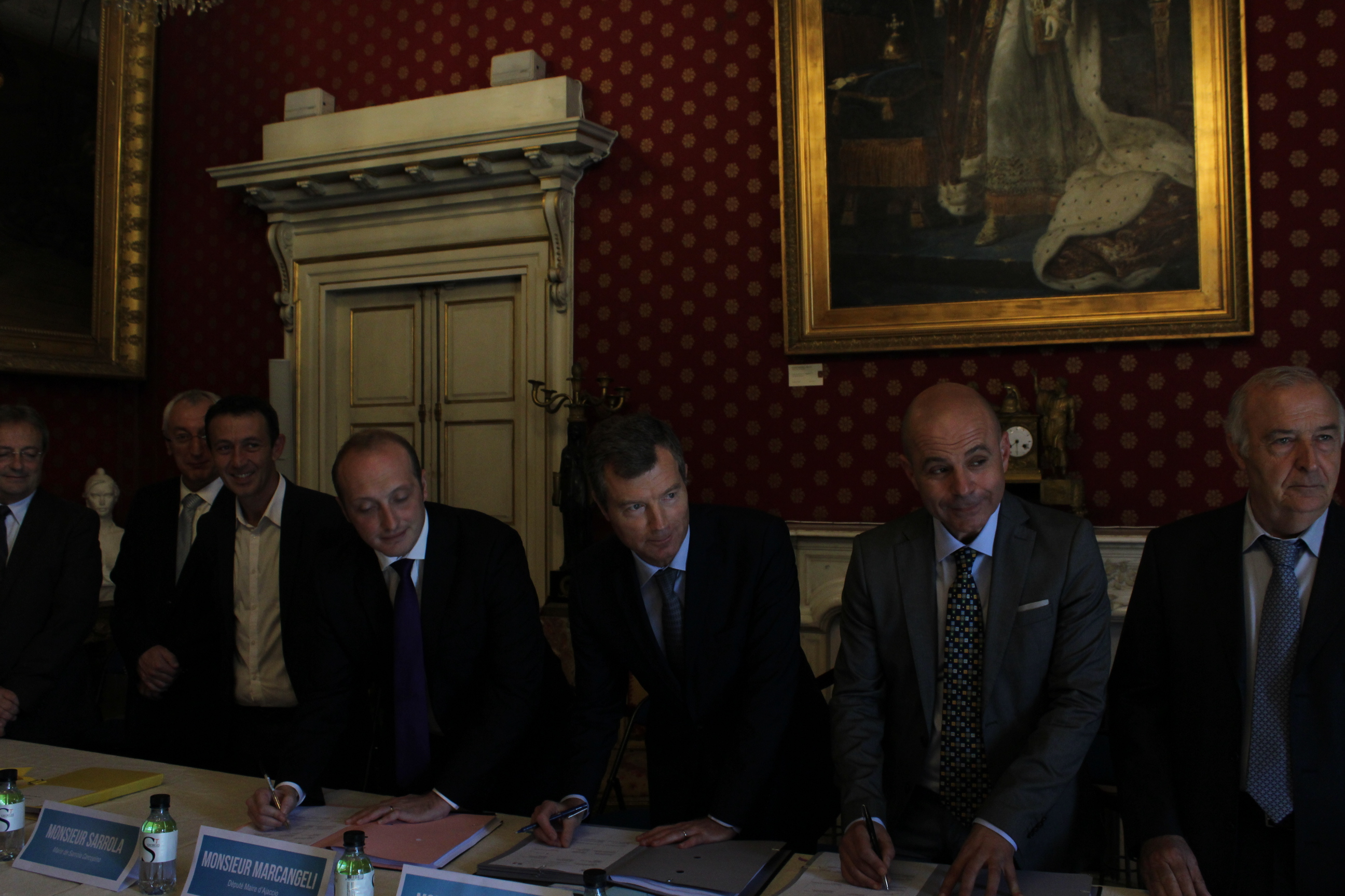 Signature du contrat de Ville du Pays Ajaccien