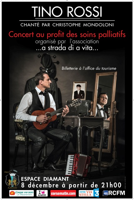 Concert Christophe Mondoloni 8 décembre 21h Espace Diamant