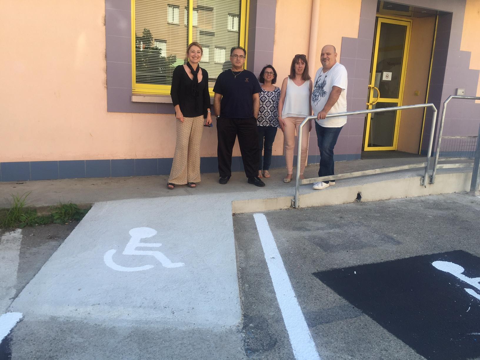 La médiathèque des Cannes accessible aux personnes handicapées