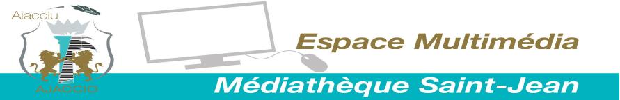 Planning d'été de l'espace multimédia de la Médiathèque Saint-Jean
