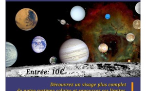 Conférence/Vidéoprojection commentée « Le système solaire sous un nouveau jour »