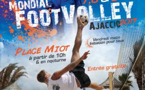 Mondial FootVolley d'Ajaccio 7, 8 et 9 juillet 2017