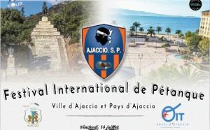 Festival International de pétanque de la ville d'Ajaccio du 12 au 16 juillet 2017