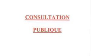 Avis d'appel public concernant la création d'une station de transit de déchets inertes lieu dit Saint Antoine