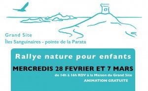 Rallye nature sur le Grand Site pendant les vacances d'hiver