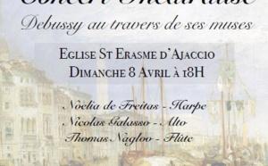 Concert Théâtralisé Debussy au travers de ses muses