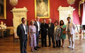 Réception de hautes personnalités japonaises Jeudi 21 juin 2018 Salon napoléonien