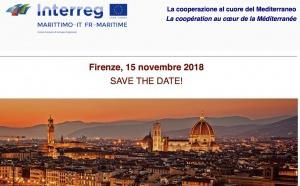 SAVE THE DATE - 15 NOVEMBRE 2018 À FLORENCE