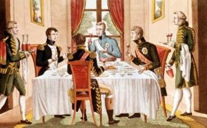 La cuisine d'empire se met en scène dans le Salon Napoléonien de l'Hôtel de Ville