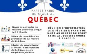 Destination Quebec pour les jeunes !