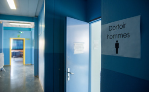 Un centre d'hébergement provisoire aménagé pour les personnes sans-abris