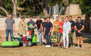 Entretien des espaces verts, Ajaccio dit adieu au désherbage chimique