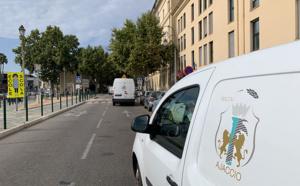 Opération des services techniques - Rue Fesch