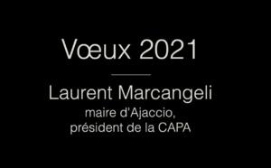 Nouvel an 2021 : vœux du maire d'Ajaccio, président de la CAPA, Laurent Marcangeli