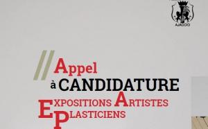 Appel à candidature exposition d'artistes plasticiens