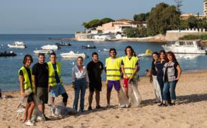 Entretien des plages ajacciennes, des espaces naturels à protéger