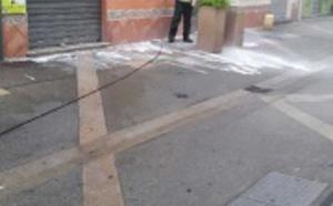 Opération propreté, la rue Fesch fait peau neuve avant Noël