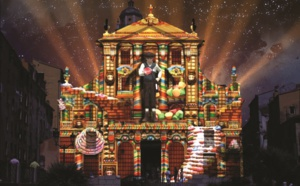 Du 12 au 23 décembre, le prince des lumières habille le Palais Fesch et la cathédrale