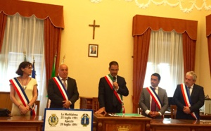 Jumelage Ajaccio- La Maddalena Un 25ème anniversaire qui pose les bases d'une coopération et d'une amitié durables