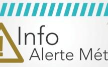 Vigilance orange « situation météorologique à surveiller » orage, pluie-inondation,vent et vagues-submersions du 24 septembre 15h au 26 septembre 04h