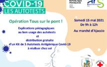OPÉRATION DE distribution et de DÉMONSTRATION D'AUTOTESTS