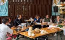 Nadine Michelli, cheffe cuisinière, Nicolas Stomboni, caviste, Siegried Gaurin, fromager, sont parmi les invités de l'émission spéciale terroir ajaccien.